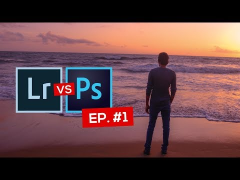Lightroom vs Photoshop EP. #1 - Remover Objetos - Falando de Foto com Willian Lima