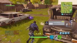 Fortnite game play I could not get a win!! LOL