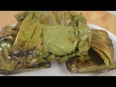 Banana Leaf Wrap Chicken | Sanjeev Kapoor Khazana