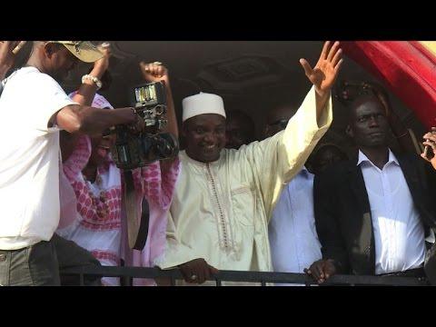 Adama Barrow à l'AFP :