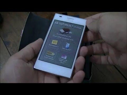 LG Optimus L5 Dual - Unboxing