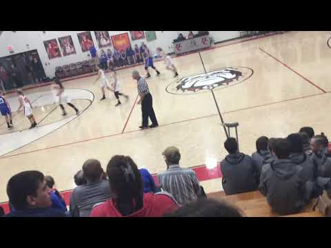 Hickman County Middle School vs East Hickman Middle School 12 16 19 Girls Home