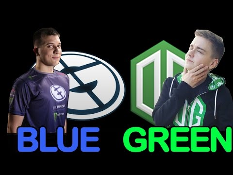 OG vs EG #2 - BLUE GREEN GRAND FINAL Dota Pit 5 Highlights Dota 2