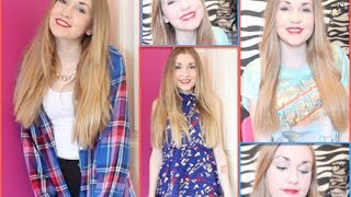 Fourth Of July~ Makeup, Hair & 2 Outfits! Thumbnail