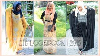 EID LOOKBOOK 2015 + Hijab Tutorial | Eid Series | Aysha Abdul