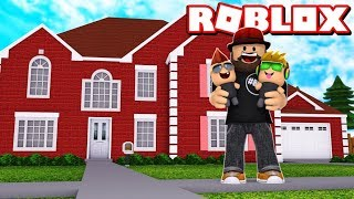 OUR NEW FAMILY HOUSE in ROBLOX ADOPT ME