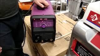 WEGA 205 AC DC TIG PULSE Сварочный Аргонодуговой Аппарат  Сварки Распаковка Обзор