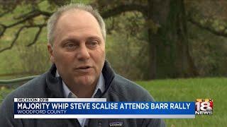 Majority Whip Steve Scalise Attends Barr Rally