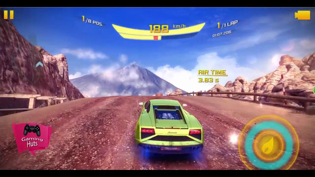 Asphalt 8 Tenerife Cup Lamborghini Gallardo Lp 560 4 2013 Event Race Dragon Tree Gameplay