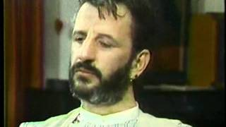 Ringo Cries over John Lennon