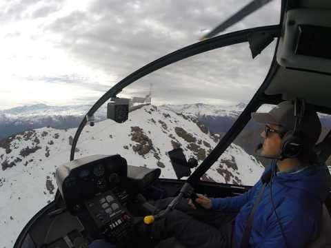 Andes Mountain Helicopter Landing - Rotortec
