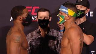 UFC Vegas: Weigh-in Faceoffs