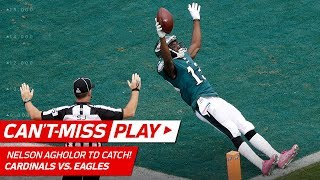 Nelson Agholor Absolutely Turns Around Budda Baker on Long Touchdown! | Can