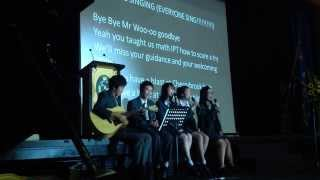 ISCF's Speech/Song for my farewell