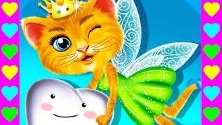 Мультик про кошечку фею. Кошка становится зубной феей. Детский сказочный мультфильм.