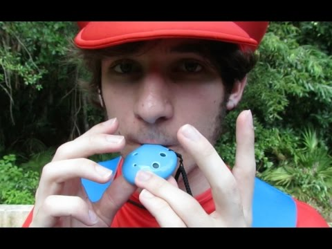 Super Mario Theme Song on Ocarina MUSIC VIDEO