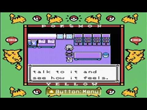 how to play pokemon yellow