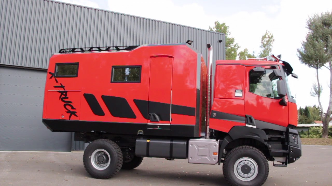 expedition truck renault k 3c cartier x truck youtube. Black Bedroom Furniture Sets. Home Design Ideas