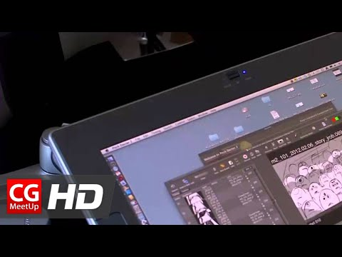 CGI Making of Pixar Animation Monsters University - Computer Animation