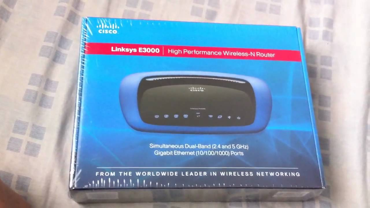 LINKSYS E3000 DRIVER DOWNLOAD