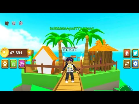 FREE CODES PET ISLAND by @TroooFunGames 30K FREE COINS DIG COINS + PET #ROBLOX GAMEPLAY OF THE DAY