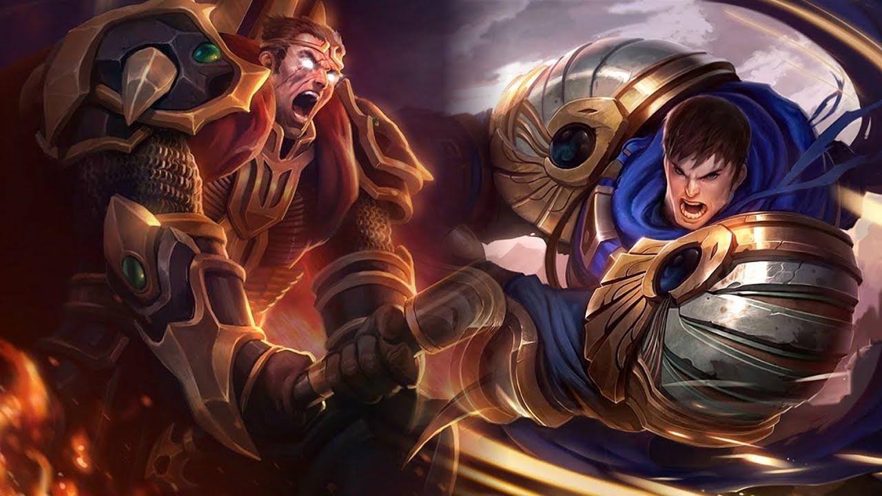 Garen Vs Darius Batalla De Rap Campeones League Of Legends Mediyak Ft Sora