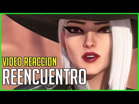 OVERWATCH: REENCUENTRO | NUEVO HEROE ASHE | Video REACCION | AlphaPlays