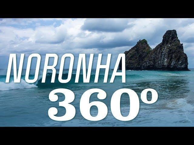 Freesurf na Cacimba do Padre em 360°| Noronha 360 | Canal OFF