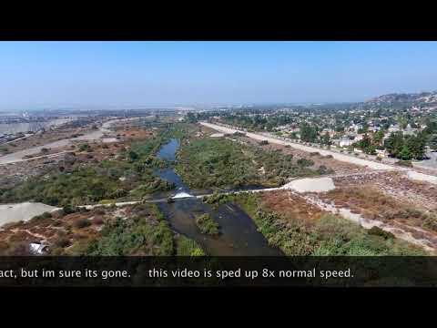 Flight Plan Encanto Park Using Parrot BeBop2