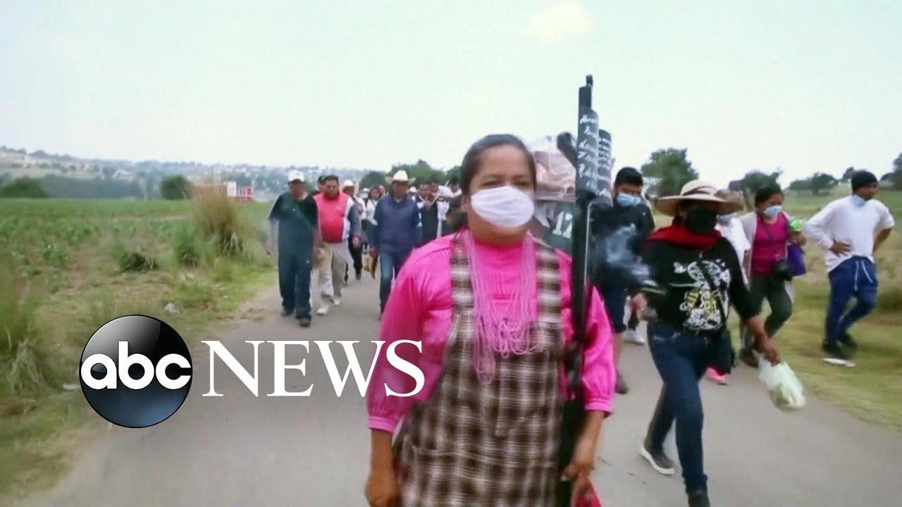 COVID-19 cases climb in Mexico   ABC News