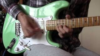 Pink Floyd - Have a Cigar [Guitar SOLO with Boss GT-10]