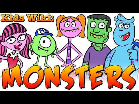MONSTER FACTS! Cool School's Wiki for Kids: Monsters!