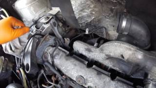 How to remove the turbine Opel Vivaro / Как снять турбину Opel  Vivaro