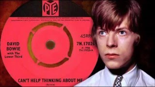 "David Bowie - Cant Help Thinking About Me 1966 Mega Rare 7"" Single £600"