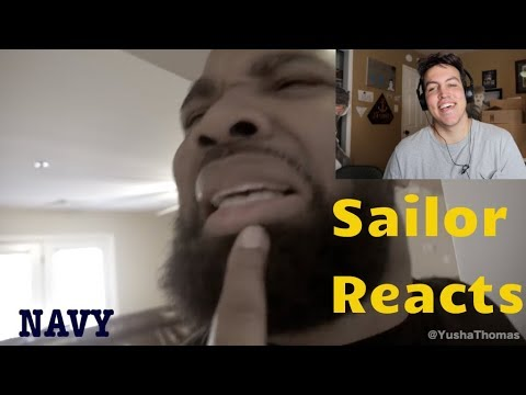Petty Officer Dingleberry by Yusha Thomas - Navy Vet Reacts