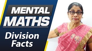 Learn basic of mental Maths for beginners   Division Facts   Maths Tricks