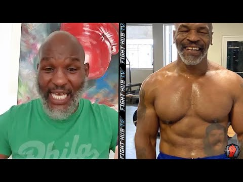 BERNARD HOPKINS FEELS MIKE TYSON CAN BE UNDISPUTED CHAMP ONCE MORE IF HE COMES BACK!