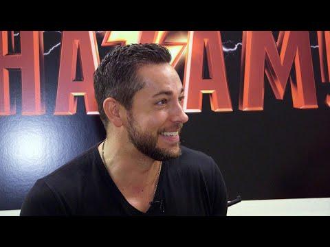 Shazam! Zachary Levi on Becoming a 'Bona Fide Superhero' Exclusive