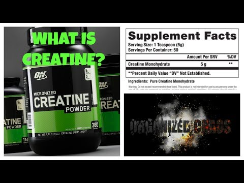 SUPPLEMENT FACTS: WHAT IS CREATINE?