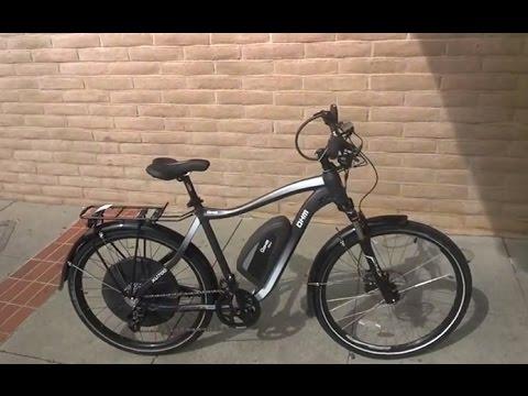 OHM Urban XU700 28 MPH E-bike is a fast commuter.