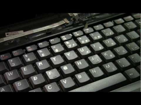 How To Replace The Keyboard On A Lenovo G450 Laptop