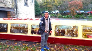 Christmas Dinner On A Canal BOAT!!