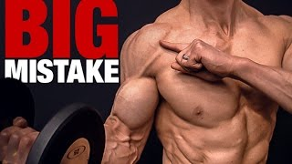 Bicep Curls Gone Bad (BIG MISTAKE!!)