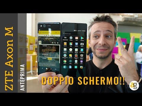 Lo Smartphone a DOPPIO DISPLAY! ZTE Axon M ANTEPRIMA