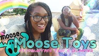 The Frog Vlog: Moose Mates Glamping Adventure PLUS we tour Moose Toys Headquarters