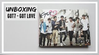 UNBOXING: GOT7 - GOT LOVE ♡ ALBUM // MLSS