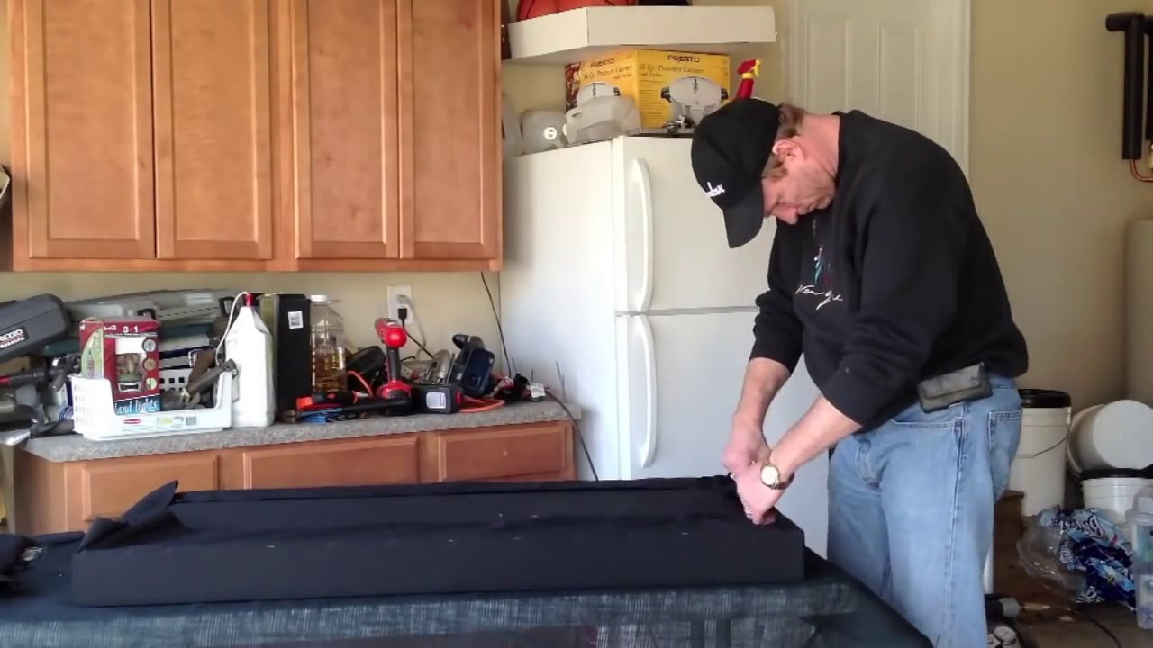 DIY Sound Absorption Panels for Home Studio - YouTube