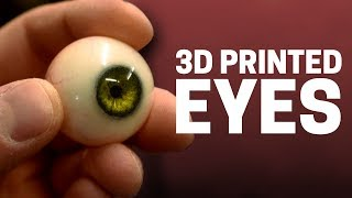How to Make Realistic Eyes Using 3D Printing for Animatronic Eye Mechanisms