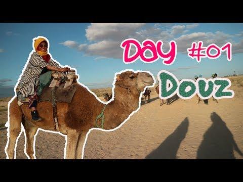 [Travel VLOG] Konvoi Unta Menjemput Sunset Sahara, Douz Tunisia