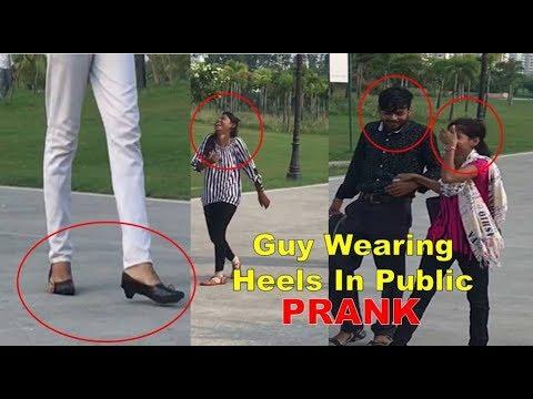 Boy Wearing HEELS In Public [] Pranks In India [] Amazing reaction 2017 Mp3